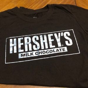 Hershey's Brown Silver  Small T-shirt